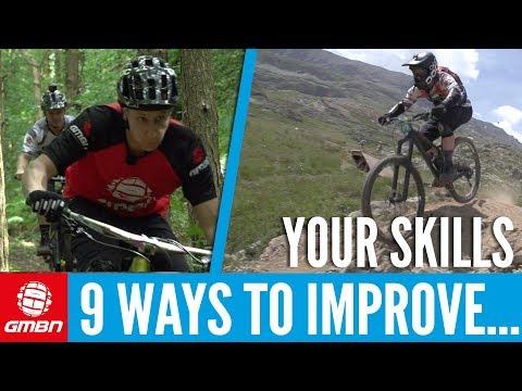 9 Ways To Improve Your Mountain Biking Skills