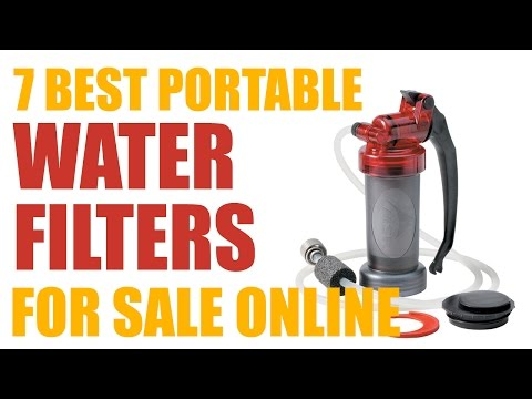7 Best Portable Water Filters for Sale Online