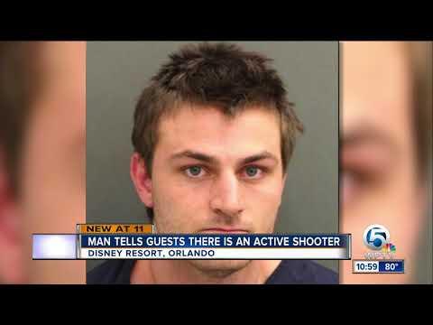 Active shooter threat at Disney World sends man to jail