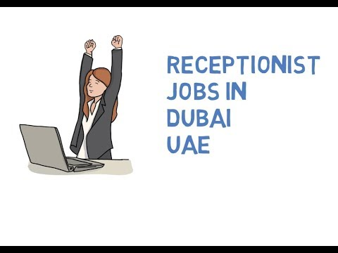 Receptionist Jobs Dubai, UAE