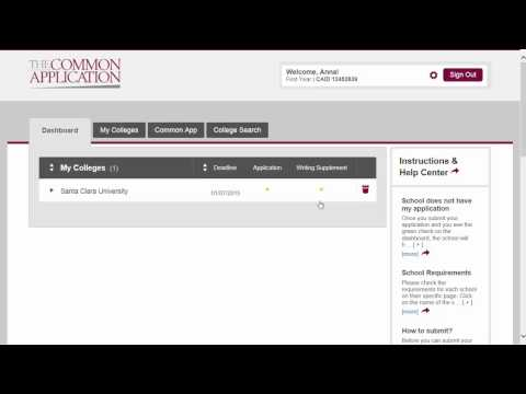 Common Application walkthrough part 7: College specific supplements
