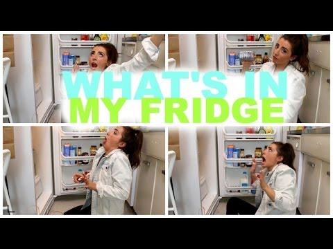 WHAT'S IN MY FRIDGE?!