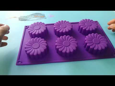 silicone flower molds for cakes / flower shaped silicone mould