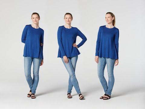 How to Make a Long Sleeve Top | Teach Me Fashion