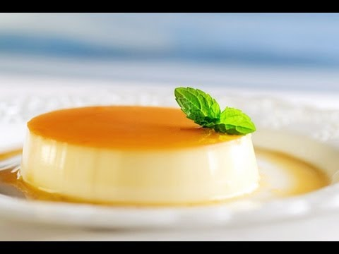 How to Make Cream Caramel Pudding カスタードプリンの作り方 (レシピ) Custard Pudding Flan Recipe