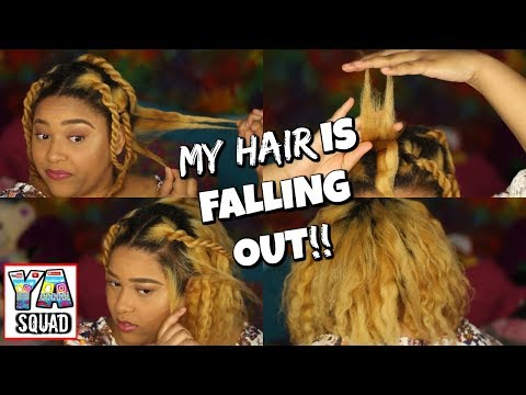 MY HAIR IS FALLING OUT!