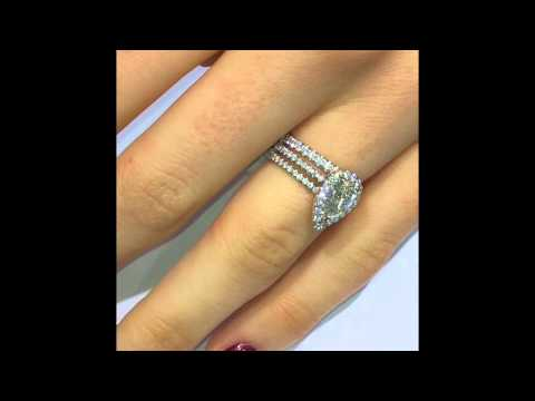 How to match your Engagement Ring with Diamond Eternity Band