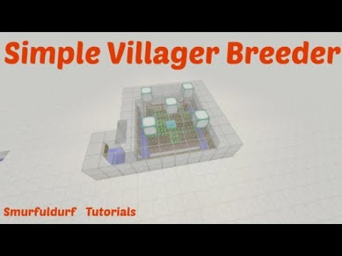 Minecraft | Simple Villager Breeder| PC Xbox PE PS4 | TU 57