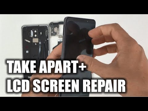 Huawei Mate 10 Pro - How to Take Apart & Replace LCD Glass Screen