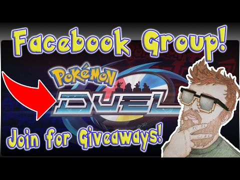 Join My Pokemon Duel Facebook Group! Pokemon Duel Players Club! Giveaway at 1K Members!