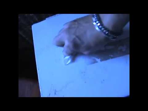 HACK! removing OLD CRUSTY duct tape residue from FILE cabinet EASY DIY!