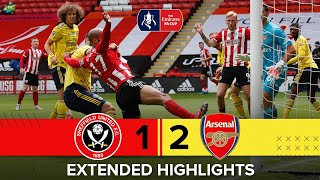 Sheffield United 1-2 Arsenal | Extended Emirates FA Cup highlights