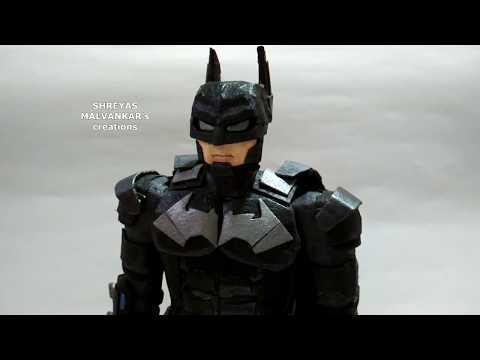 Cardboard Batman (customised)