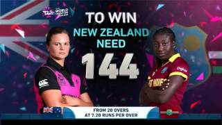 ICC # WT20 New Zealand vs West Indies Womens Semi-Final Highlights
