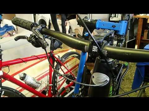 XTR Rear Brake Installation- Shimano Disc Hose Cut & Set Tool Review