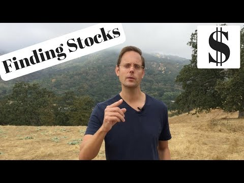 Dividend Investing: How I Find Stocks (Selecting Dividend Stocks)