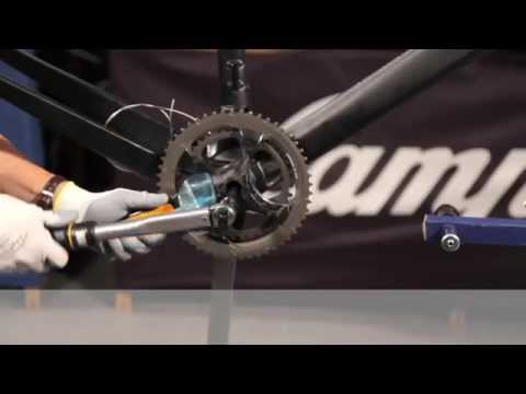 Campagnolo Installation montage des groupes Super Record, Record et Chorus