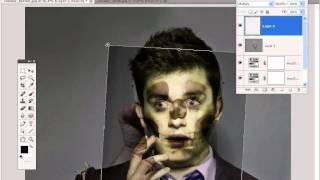 Make Yourself A Zombie In Adobe Photoshop Cs5