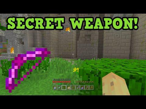 Minecraft Xbox 360 / PS3 Battle Mode SECRET WEAPON