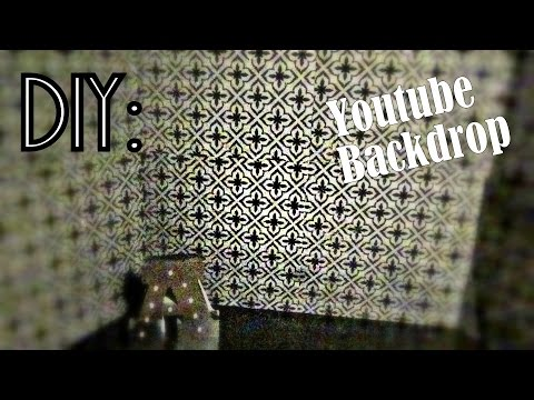 DIY: How to Make a Backdrop