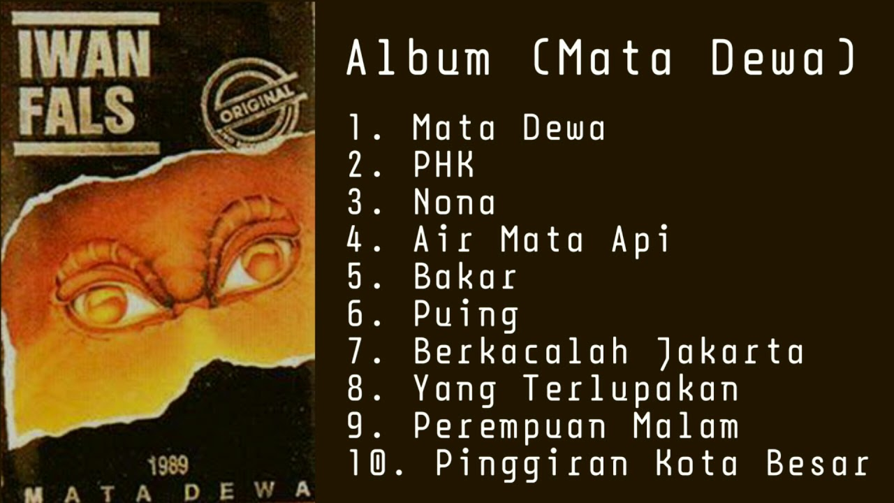 Download Iwan Fals Album (Mata Dewa) MP3 Gratis