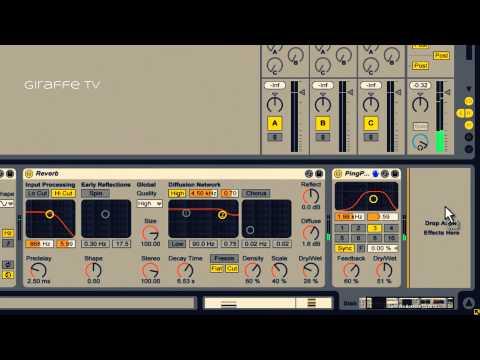 Ableton Dub Techno (Drum&Chords) tutorial