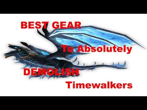 Best Caster (Mage, Warlock, Elemental Shaman, Boomkin, Shadow Priest) Gear for Timewalking Dungeons