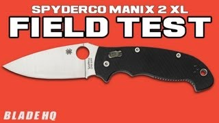 spyderco manix 2 Videos - 9tube tv