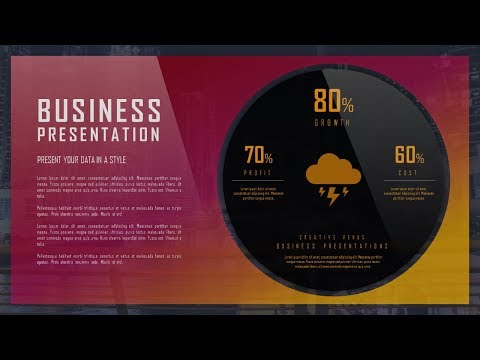 How To Design Statistical, Data Presentation Slide in Microsoft Office365 PowerPoint PPT