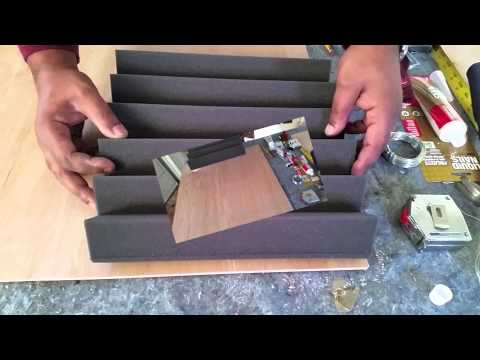 How to build Low Cost Acoustic Sound Panels w/Jbars