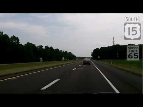 Route 15 in Pennsylvania - the Gettysburg Bypass