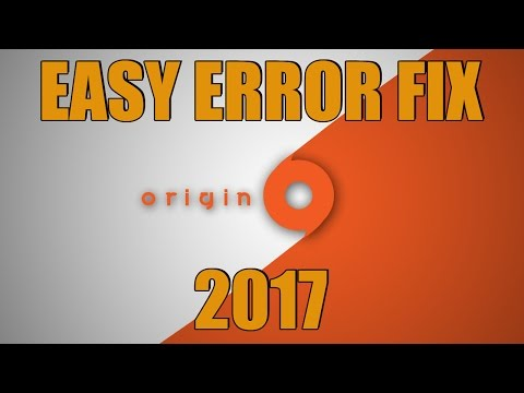 Origin Has Encountered A Serious Problem FIX Problem Tutorial 2017