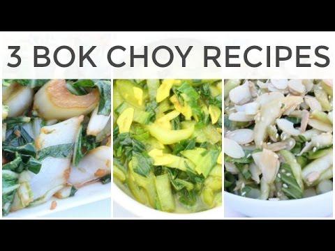3 Fast + Easy Bok Choy Recipes
