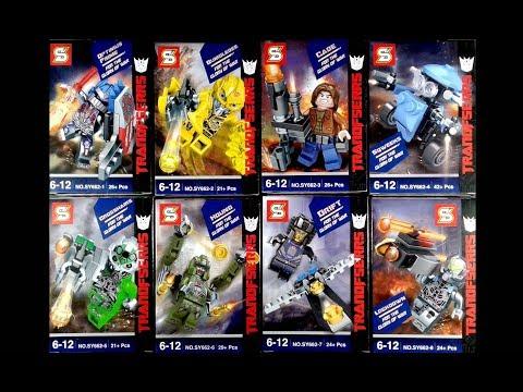 LEGO Transformers Minifigures (knock-off) Sheng Yuan 662