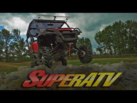 Honda Pioneer Heavy Duty Front Brush Guard - SuperATV