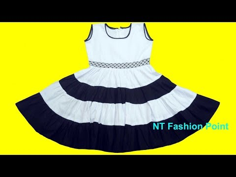 How to learn latest designs baby frock | Baby girl clothes | Baby dress