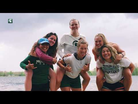 Michigan State Rowing:  Luisa Romero
