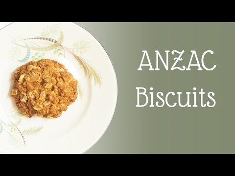 ANZAC Biscuits (REAL AUSTRALIAN RECIPE!)