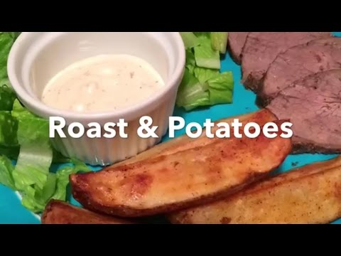 Roast & Potatoes (halogen oven)