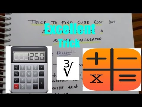 Trick to find cube root or any other root on simple calculator without using scientific calculator