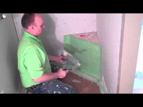 How to correctly Waterproof a Tile Shower Bench - by TrugardDirect.com