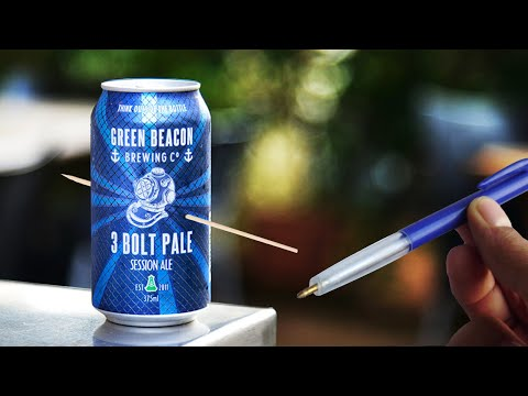 How I Made This Pen Gun That Shoots Through Aluminium...