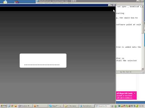 Rosetta setup + installation video