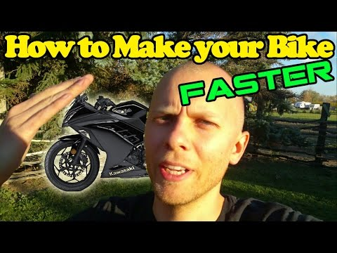 How To Make Your Motorcycle Faster For Free
