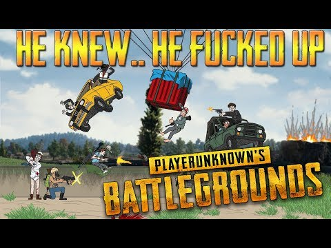 It was at this moment that he knew, he fucked up. [PUBG FAIL]