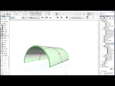 The ARCHICAD Shell Tool - Create extruded shells