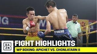 HIGHLIGHTS   WP Boxing: Apichet vs. Chonlatarn II