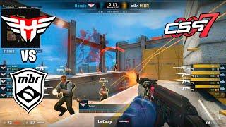NEW MIBR FIRST GAME!! - MIBR vs Heroic - cs_summit 7 - HIGHLIGHTS | CSGO