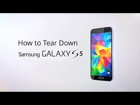 Samsung Galaxy S5 Disasembly/Take Apart/Tear Down Tutorial