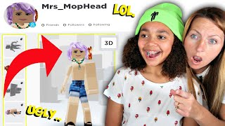 WORST ROBLOX PLAYER EVER!! (Creating My Mum A Roblox Account)